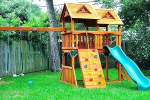 play-structures-for-small-yards-backyard-wooden-s