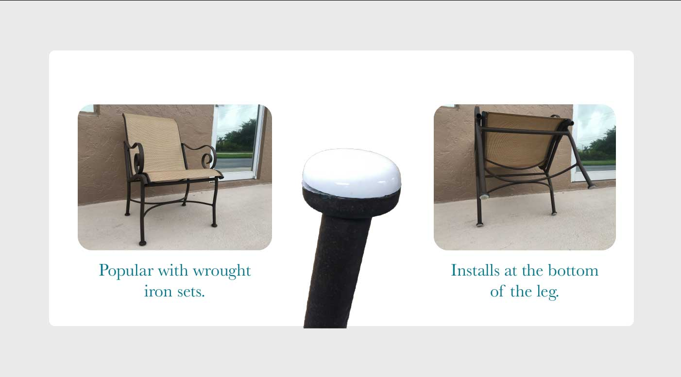 Patio Furniture Feet Protectors